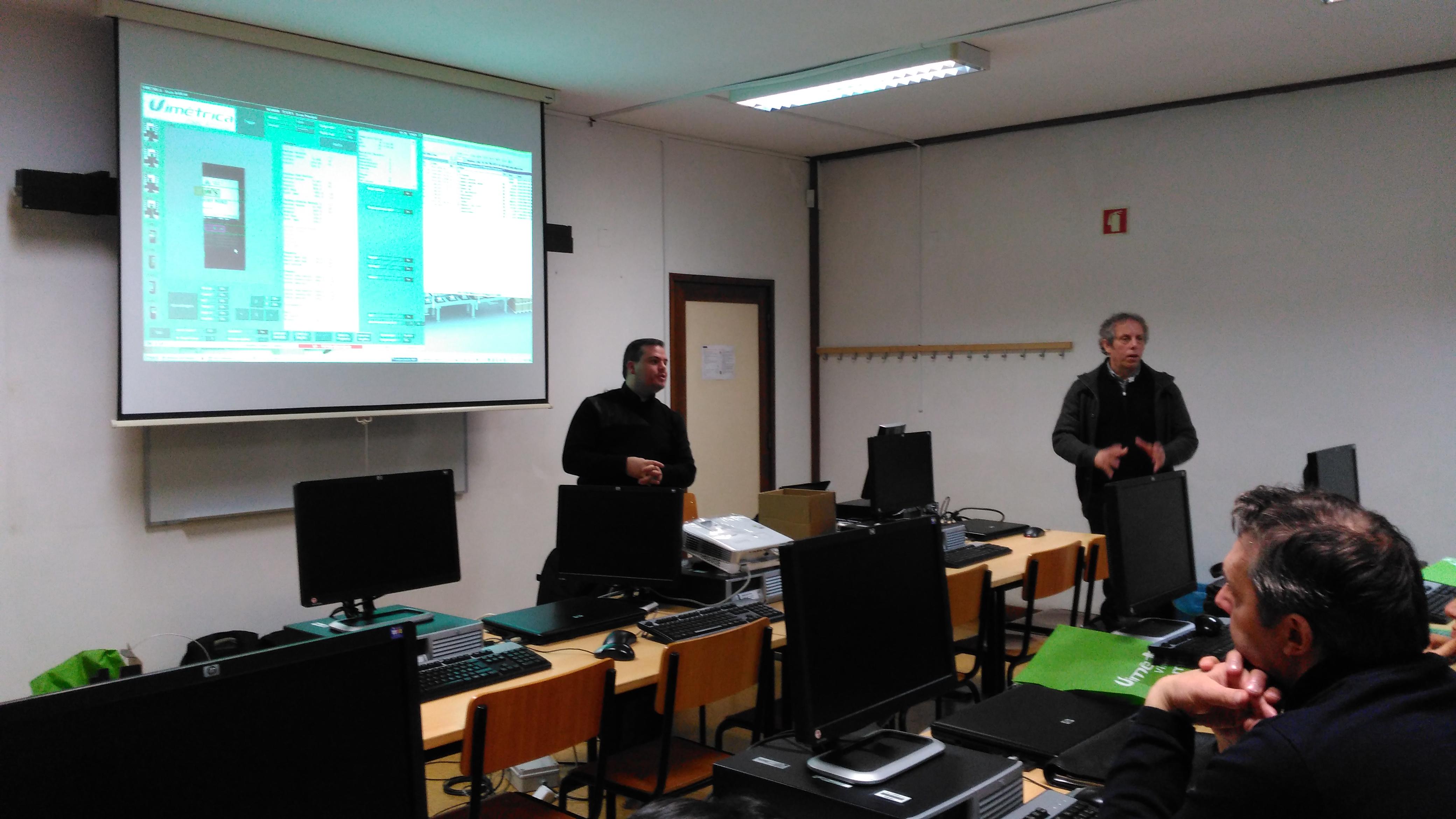 Imagem de Vimétrica's teaches at ISVOUGA college