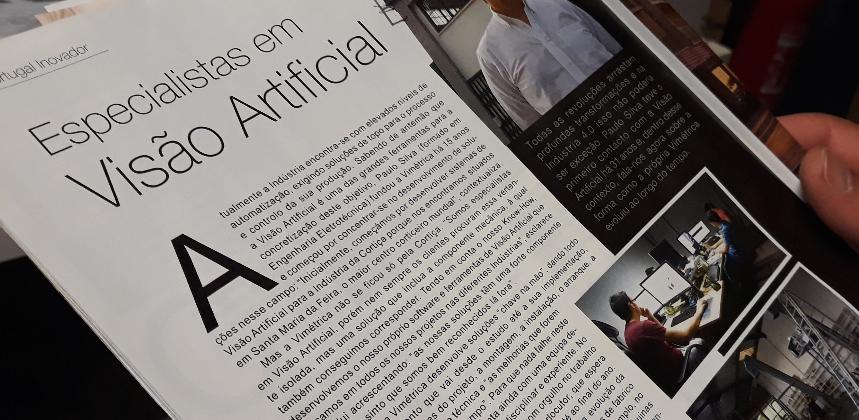 Imagem de REPORTAGEM: Revista 'Portugal Inovador' faz reportagem sobre Vimétrica